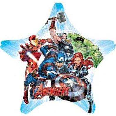 "29"" Avengers Assemble Star Foil Balloon"