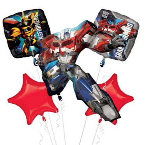 Transformers Optimus Prime Balloon Bouquet