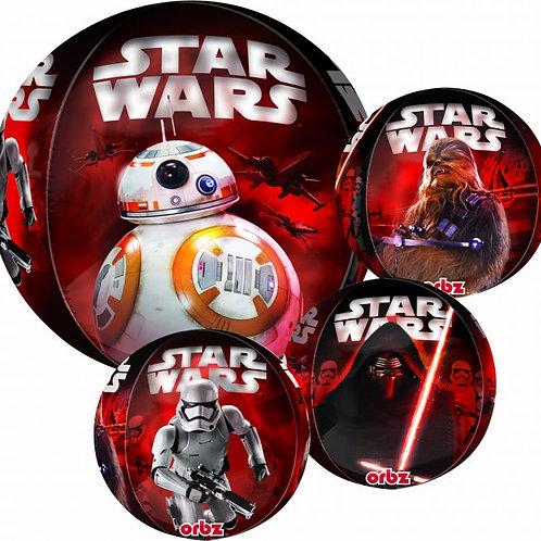 "16"" Star Wars Force Awakens Orbz Foil Balloon"