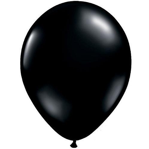 "12"" Standard Latex Balloon - Onyx Black"