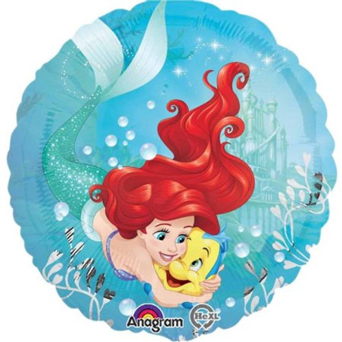 "18"" Ariel The Little Mermaid Dream Big Foil Balloon"