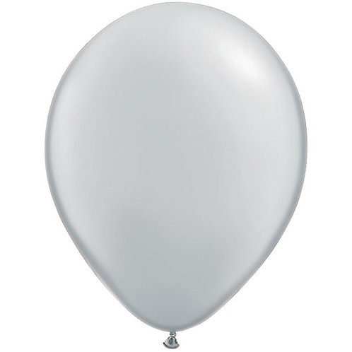 "12"" Standard Latex Balloon - Grey"