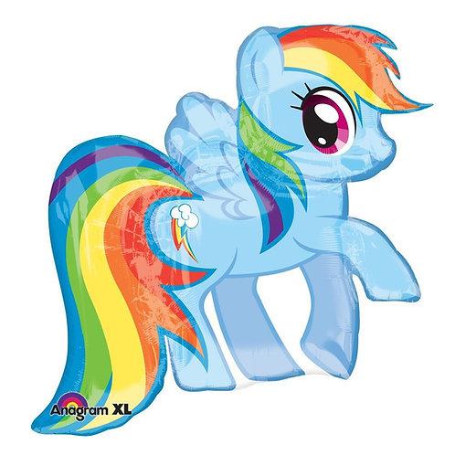 "28"" My Little Pony Dash Foil Balloon"