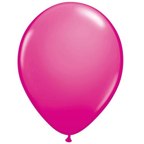 "12"" Standard Latex Balloon -Wildberry"