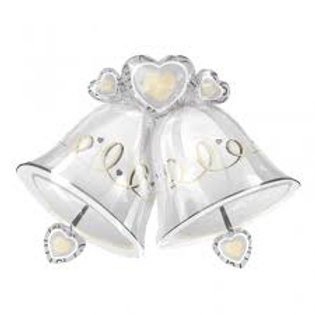 """26"""" Wedding Bells Foil Balloon"""