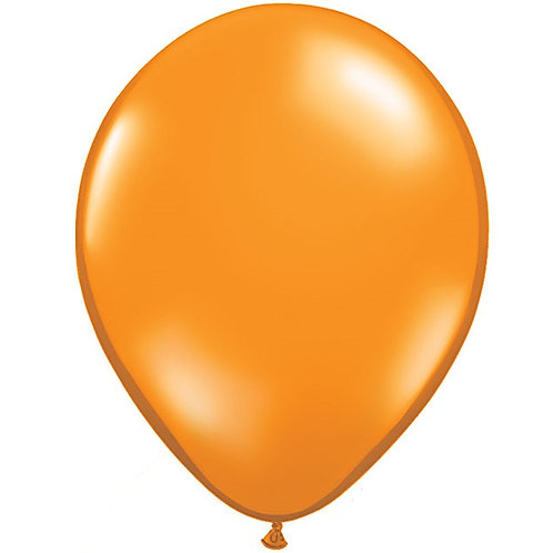 "12"" Standard Latex Balloon - Orange"