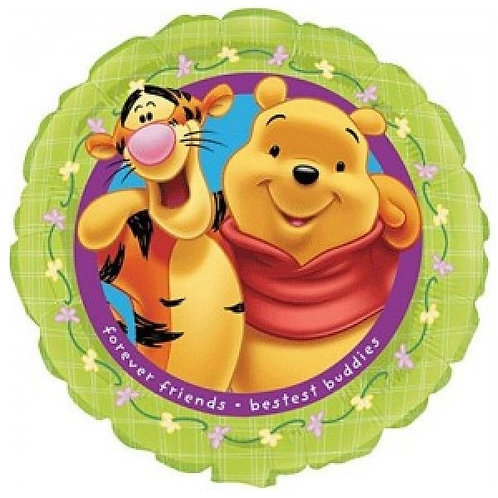 "18"" Pooh Friends Forever Foil Balloon"