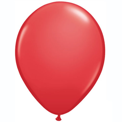 "12"" Standard Latex Balloon - Red"
