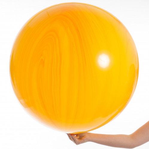 3ft Orange Marble Agate Giant Balloon