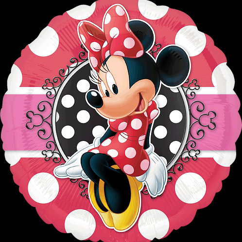 "18"" Minnie Mouse Portrait Foil Balloon"