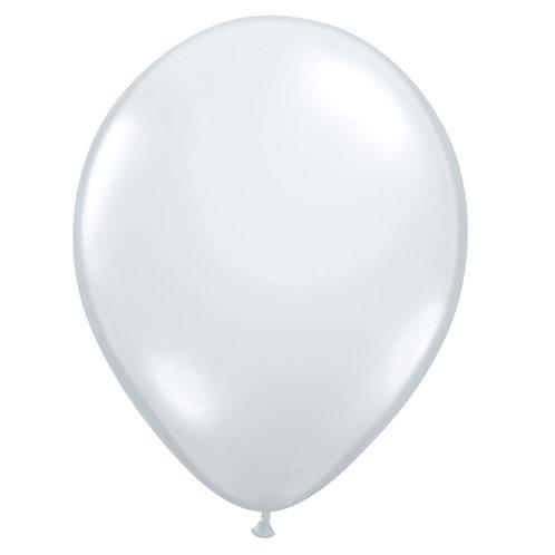"12"" Jewel Crystal Latex Balloon - Diamond Clear"
