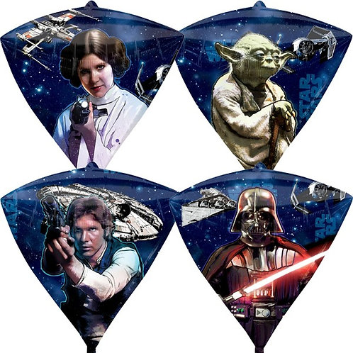 "17"" Star Wars Diamondz Foil Balloon"