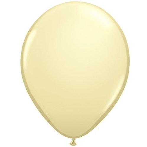 "12"" Standard Latex Balloon - Ivory"