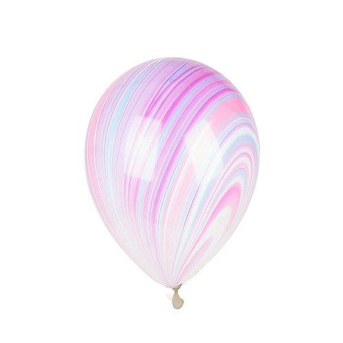 """11"""" Unicorn Marble Agate Balloon"""
