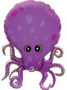 """35"""" Purple Octopus Foil Balloon"""