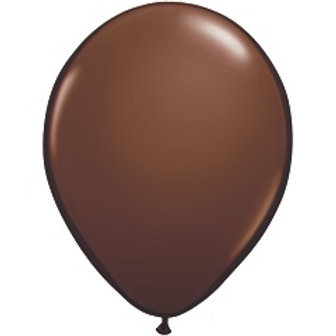 "12"" Standard Latex Balloon - Chocolate Brown"