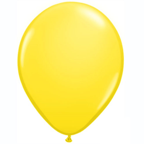 "12"" Standard Latex Balloon - Yellow"