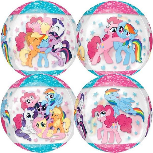 "16"" My Little Pony See-Thru Orbz Foil Balloon"