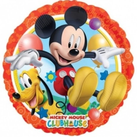"18"" Mickey & Pluto Foil Balloon"