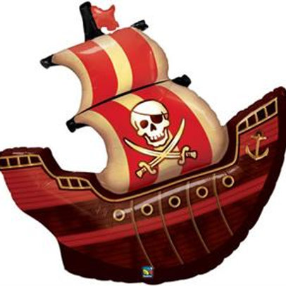 """40"""" Pirate Ship Foil Balloon"""
