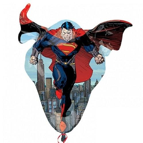 "31"" Superman Man of Steel Foil Balloon"