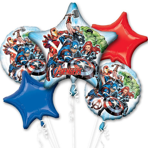 Avengers Animated Balloon Bouquet