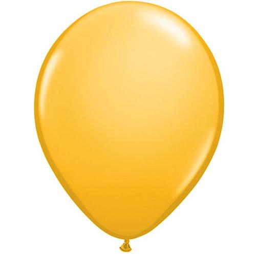 "12"" Standard Latex Balloon - Goldenrod"
