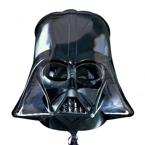 """25"""" Darth Vader Helmet Star Wars Foil Balloon"""