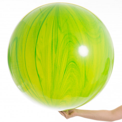 3ft Green Marble Agate Giant Balloon