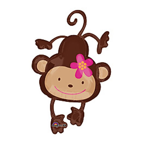 "40"" Monkey Love Foil Balloon"