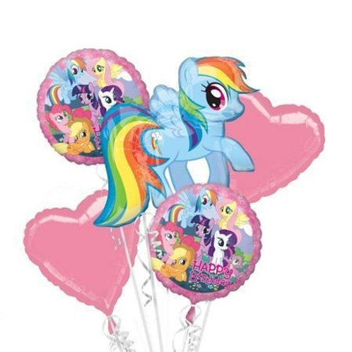 My Little Pony Rainbow Dash Happy Birthday Balloon Bouquet