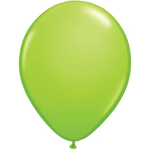 "12"" Standard Latex Balloon - Lime Green"