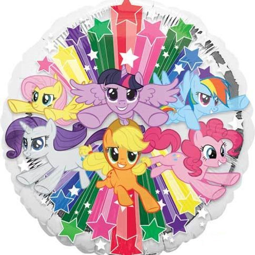 "18"" My Little Pony Gang Foil Balloon"