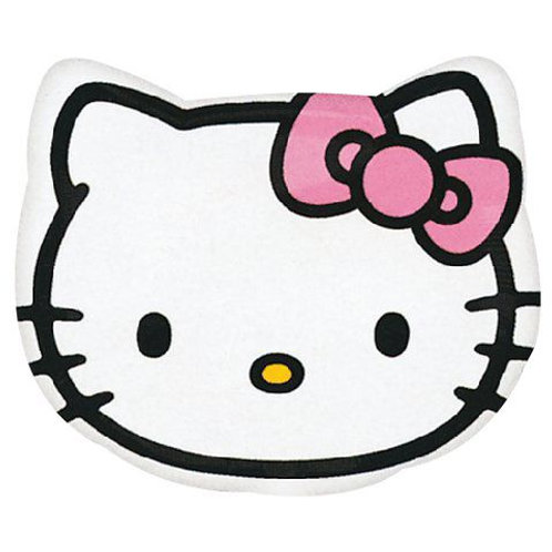 "18"" Hello Kitty Head Junior Shape Foil Balloon"