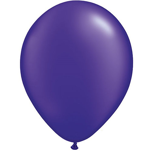 "12"" Metallic Pearl Latex Balloon - Quartz Purple"