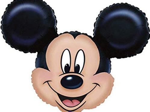 "27"" Mickey Mouse Head Foil Balloon"