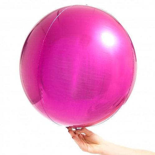 Magenta Orbz Balloon