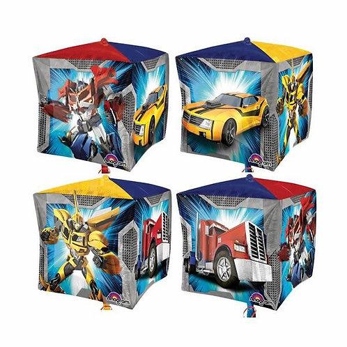 "15"" Cubez Transformers Foil Balloon"