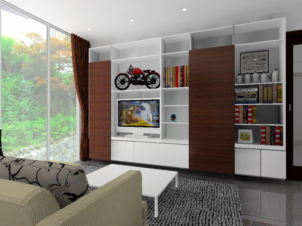 システム家具提案用CG