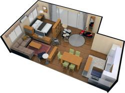 家具販売用CG