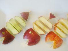 דג תפוחי שהוכן עם אופינל סכין חלקה