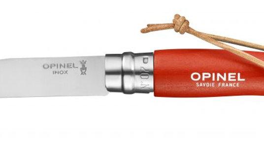 N°07 Trekking Orange סכין אופינל מטיילים מתקפלת סטיינלס מס' 7 צבע כתום