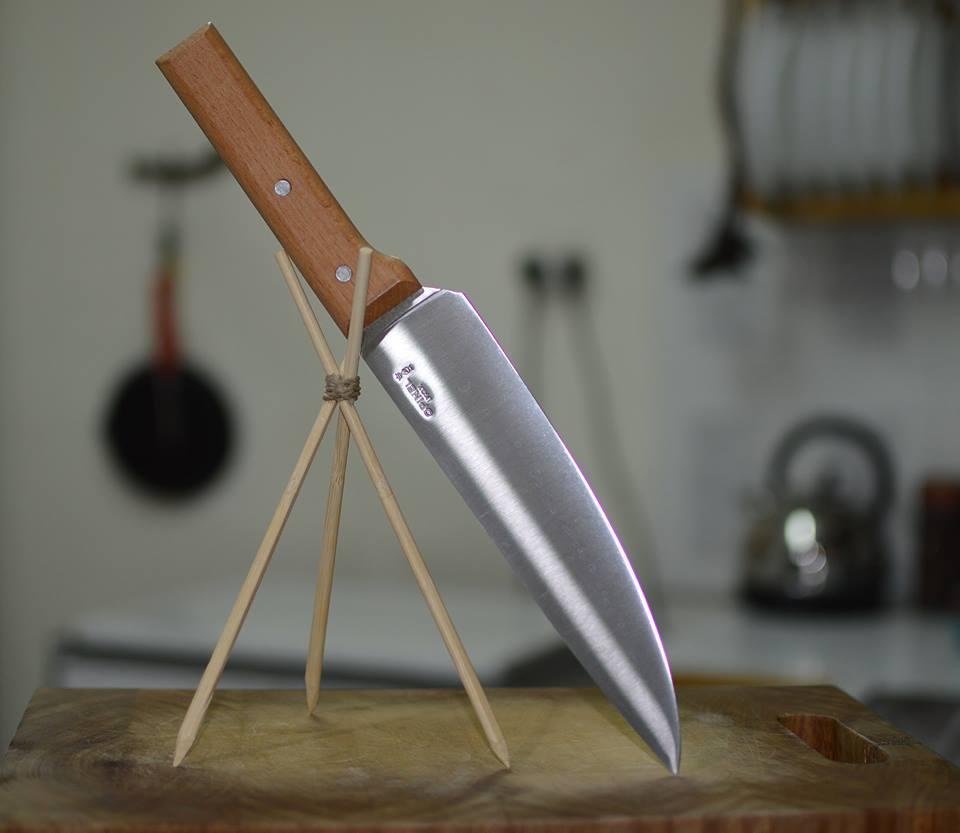 אופינל סכיני מטבח קלאסי PARALLELE WOOD OPINEL