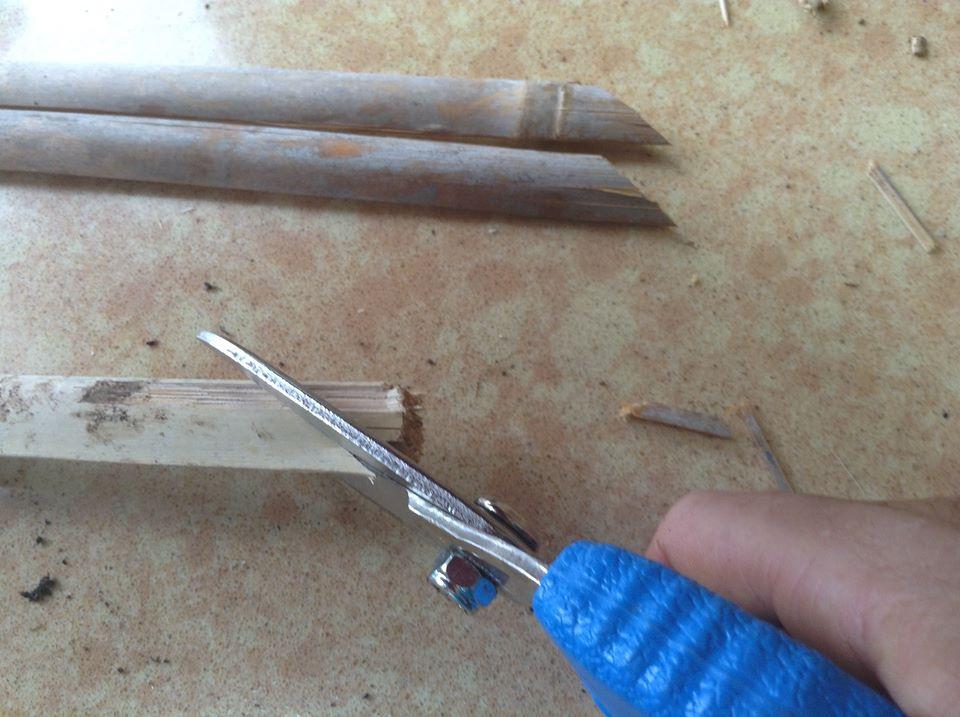 חיתוך שלטי סימון סוג הזרע במספרים לחומרים קשים