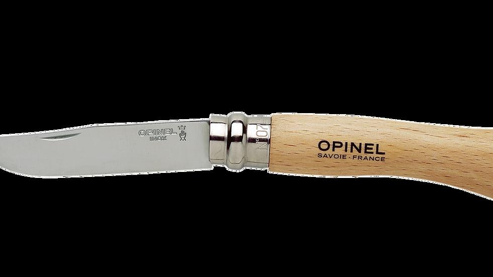 N°07 Stainless Steel סכין מתקפלת אופינל סטיינלס מס' 7