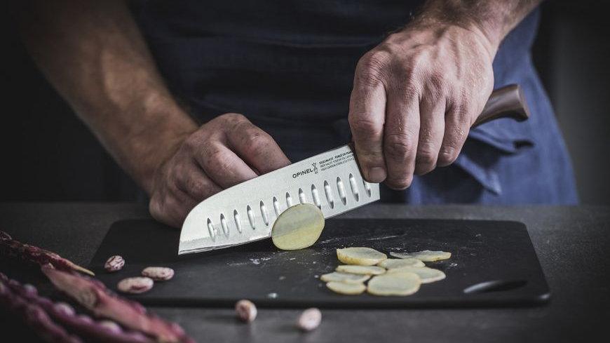 Santoku - Les Forgés 1890 סכין סנטוקו