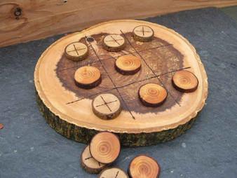 הכנת משחק איקס עיגול מעץ בעצמכם