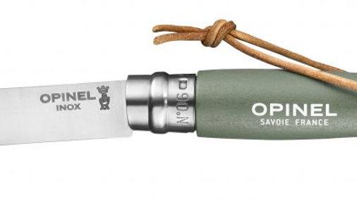 N°06 Trekking SAGE סכין אופינל מטיילים מתקפלת סטיינלס מס' 6 צבע מרווה