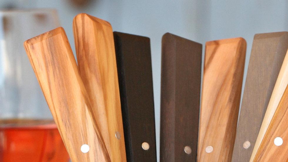 אופינל סכיני שולחן 125 עץ זית טבעי