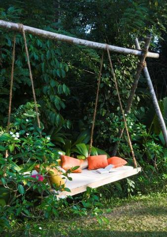 הכנת מיטה לחצר בעצמך